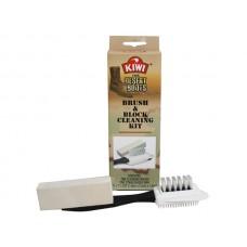 Kiwi Desert Boots, Brush and Block Cleaning Kit