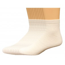 Lee Men's Full Cushioned Low Cut Sock 11 Pair, White, Men's 6-12