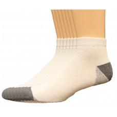 Lee Men's Low Cut Sport Socks 7 Pair, White, Men's 6-12