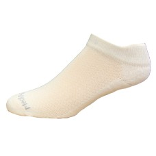 Medipeds Coolmax Poly Flexpanel Low Cut Socks 4 Pair, White, W4-10