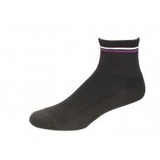 Medipeds Memory Cushion Ankle Socks 4 Pair, Black, W4-10