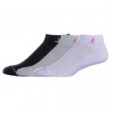 NB Komen Low Cut Socks, Medium, Assorted, 3 Pair
