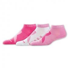 NB Komen Low Cut Socks, Medium, Asst, 3 Pair