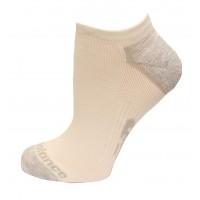 New Balance Strategic Cushion Running No Show Socks, Bright White, (S) Ladies 4-6, 3 Pair