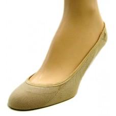 Peds Fashion Ultra Low Cut Liners, Women Shoe Size 5-10, Nude, 2 Pair