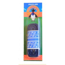 Penguin Athletic Round Laces, 45, Navy