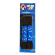 Penguin Casual Laces, 27, Black