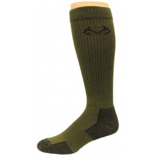 RealTree Elimishield Over the Calf Tall Boot Socks, 1 Pair, Large (M 9-13), Olive