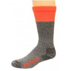 RealTree Full Cushion Ultra-Dri Tall Boot Socks, 2 Pair, Large (M 9-13), Grey/Orange Top