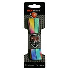 Sof Sole Neon Flat - Dog Bone, Neon Rainbow, 45 Inch