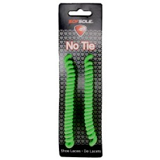 Sof Sole No Tie - Hang Tag, Neon Green, Fits 27-45 Inch
