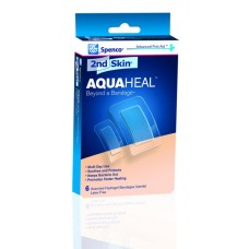 Spenco 2nd Skin  AquaHeal Bandage, Small, (1in. X 2.2in.), 25 Pack