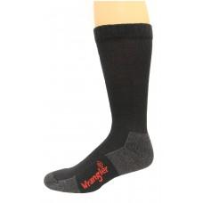 Riggs by Wrangler Men's Crew Socks 3 Pair, Black, M 8.5-10.5